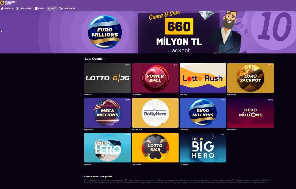 Discount Casino Loto